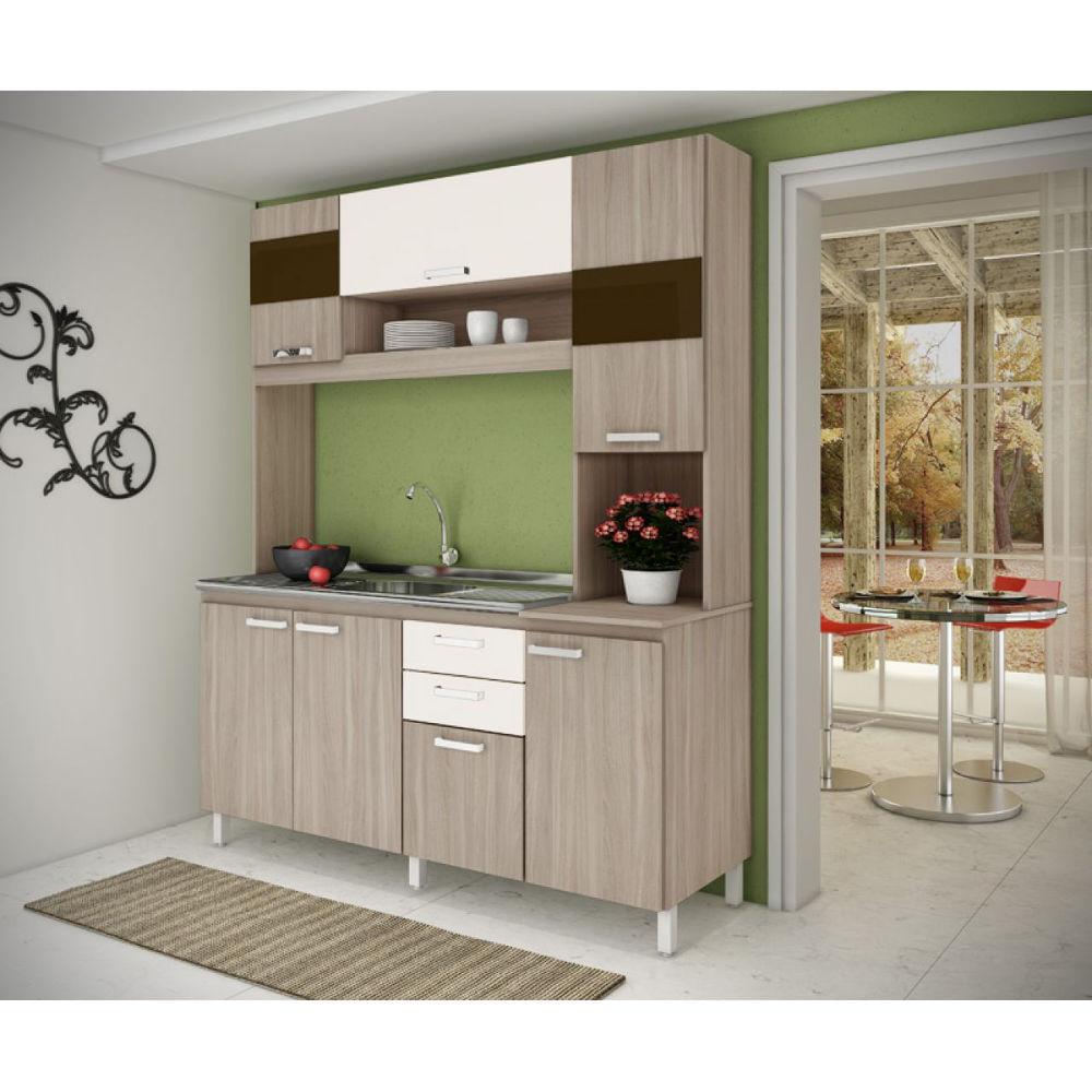 LojasCertel # Cozinha Compacta Moveis Sul